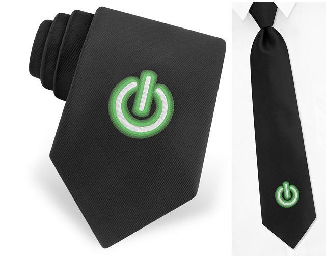 галстук с кнопокой