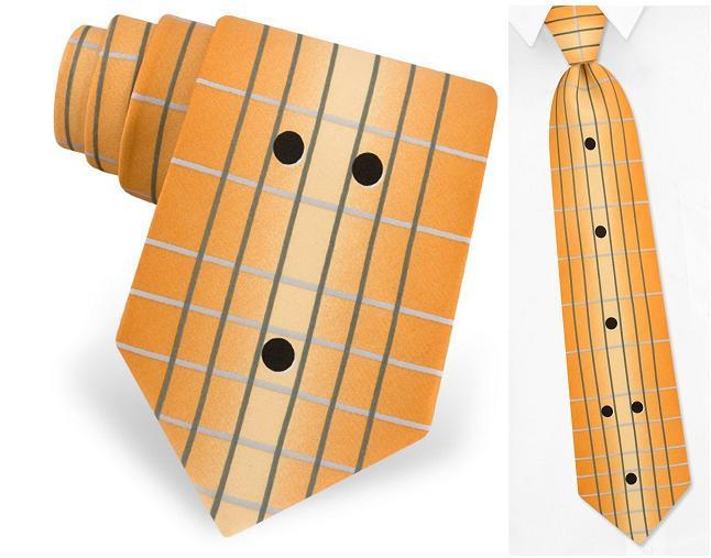 галстук - гитара
