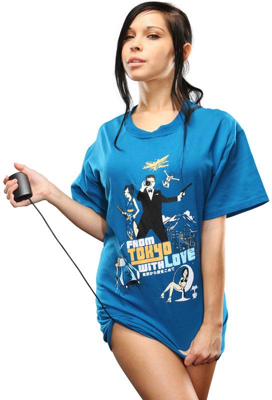 футболка с шпионскими штучками