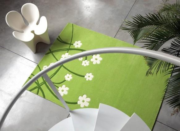 ковер зеленый, Dhesja