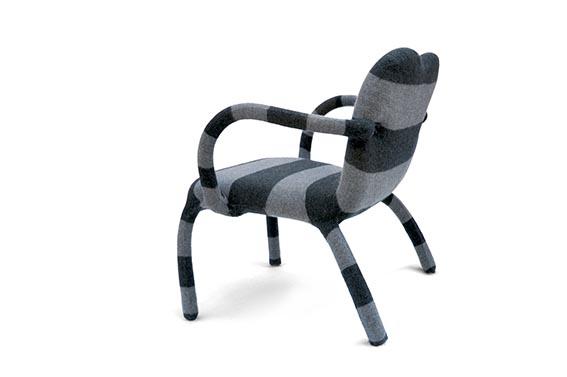 вязанный чехол на кресло jumper от bertjan pot