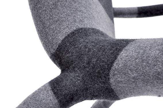 детали,  трикотажное кресло jumper от bertjan pot