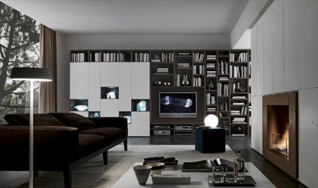 дизайн гостиной, presotto