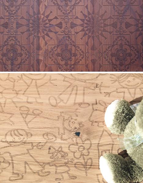 mafi, деревянный пол