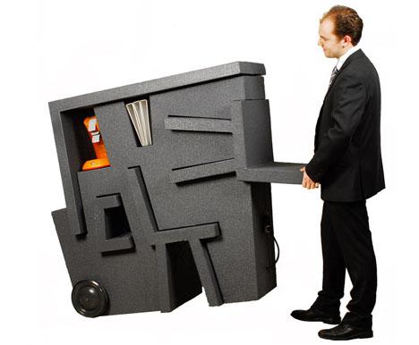 компактная мебель для офиса Tim Vinke