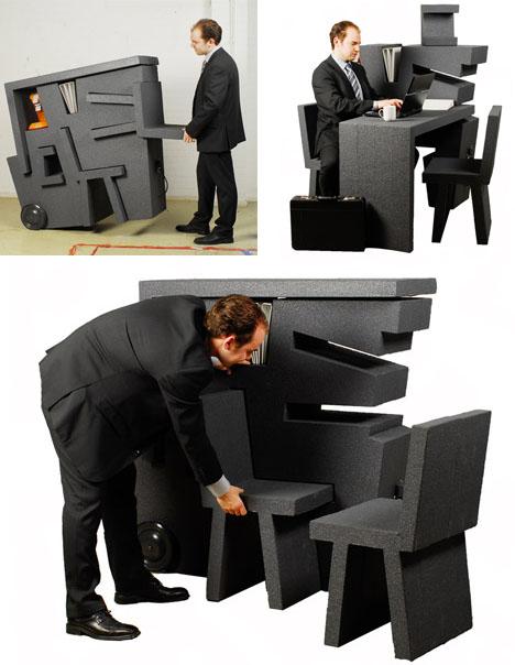 компактная мебель для малогабаритного офиса