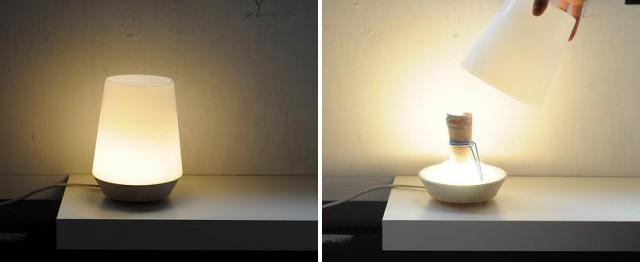 лампа - тайник для дома