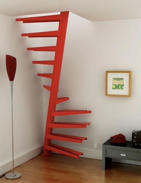 Винтовая компактная лестница