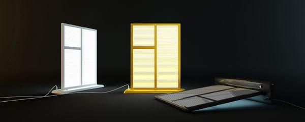светильники в виде окна