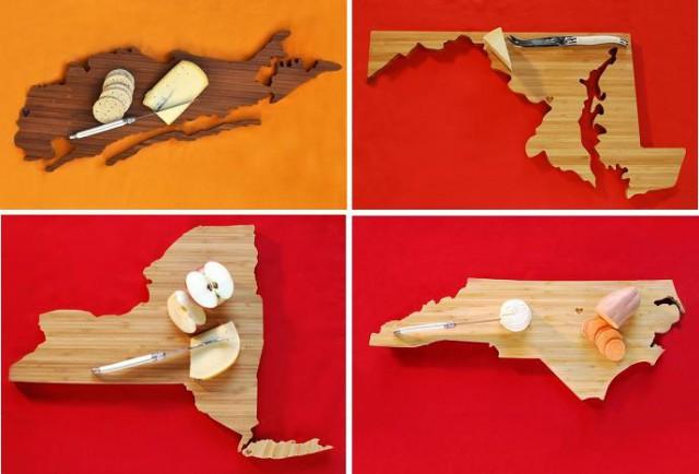 кухонные доски - штаты Лонг Айленд, Мэрилэнд, Нью Йорк и Сев Каролина