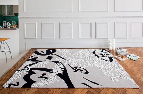 трехмерный ковер Top Floor