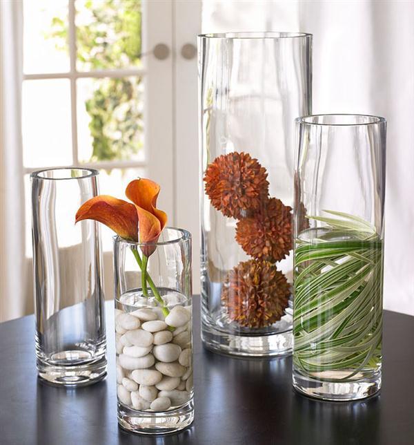 стекло и цветы, идеи декорирования