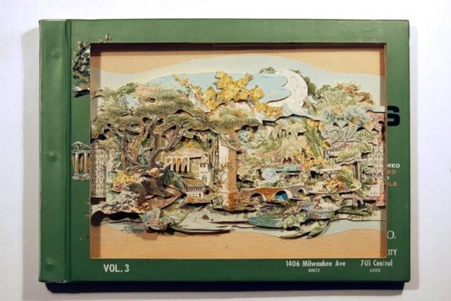 искусство книжной миниатюры Brian Dettmer