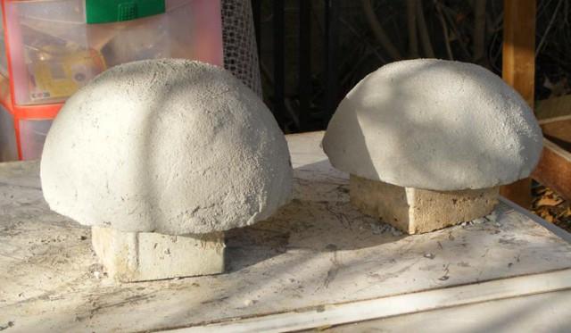 садовые скультуры своими руками божьих коровок