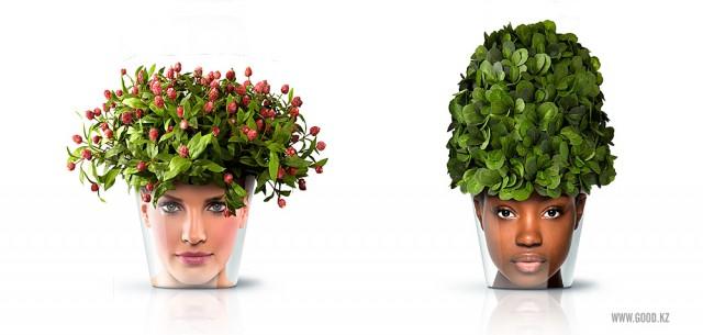 цветочные горшки Facepot от Good