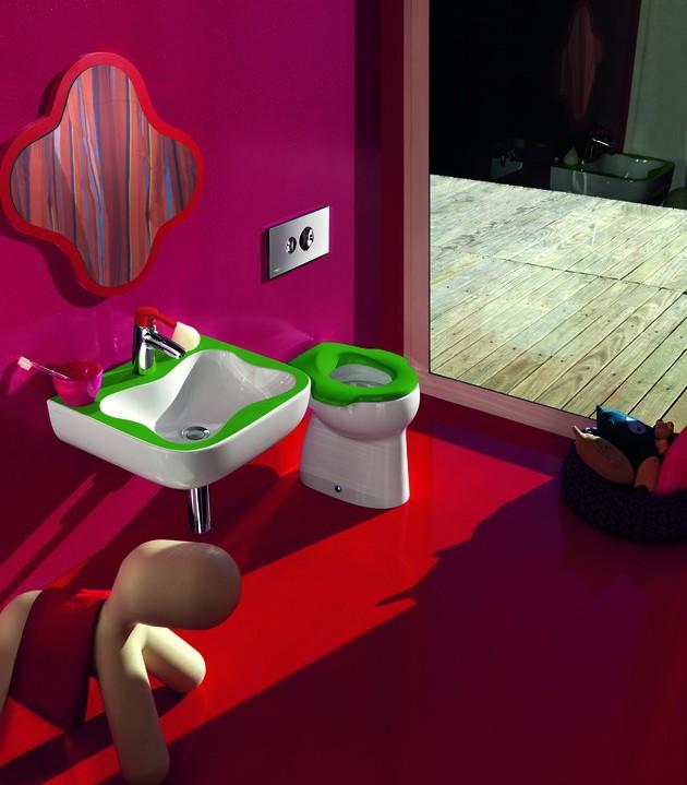 интерьер ванной для детей, Laufen