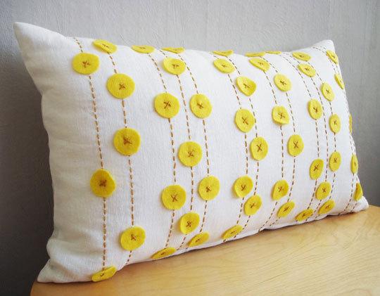 декоративная подушка White Linen, Sukan Art