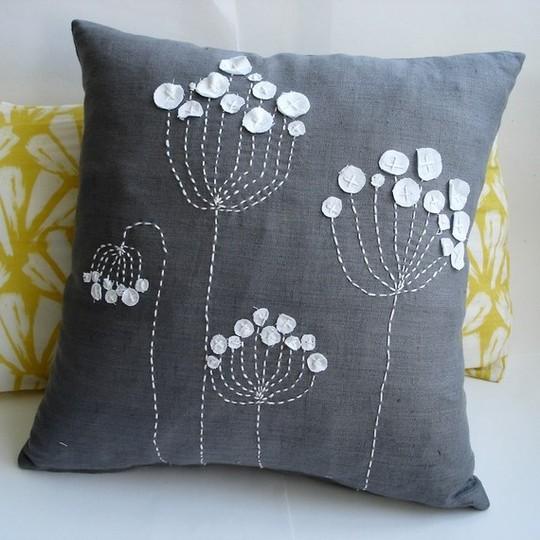 декоративная подушка Blue Linen, Sukan Art