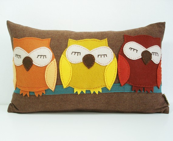декоративная подушка Owls, Sukan Art
