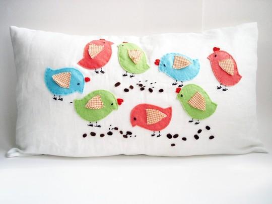 декоративная подушка Big Birds, Sukan Art
