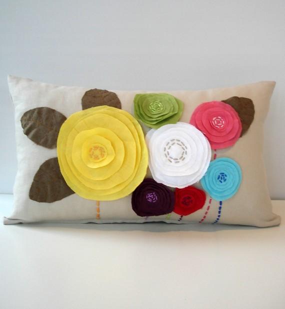 декоративная подушка Flowers, Sukan Art