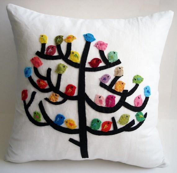 декоративная подушка Birds, Sukan Art