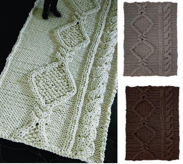 вязаные ковры Christien Meindertsma