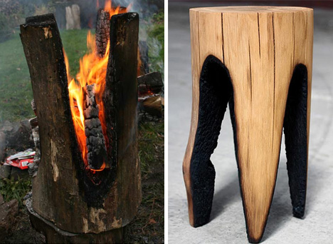 деревянные табуреты kaspar hamacher