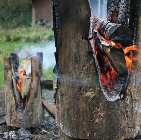 процесс изготовления табурета, kaspar hamacher