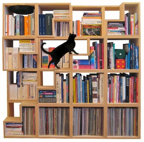 книжный шкаф Cat Library