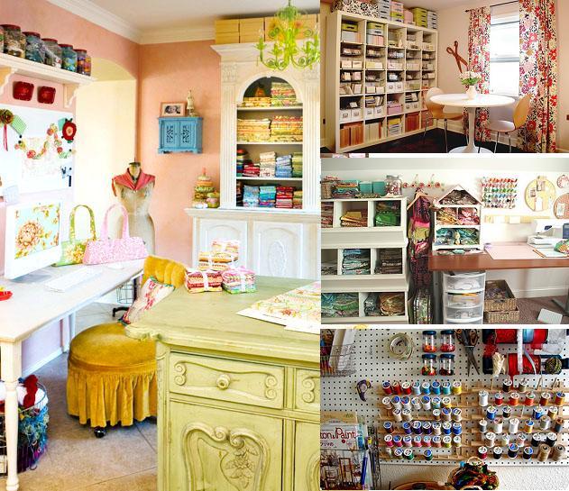 идеи для интерьера швейного места