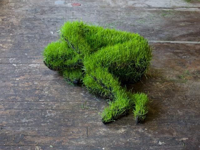 скульптура из растений mathilde roussel-giraudy