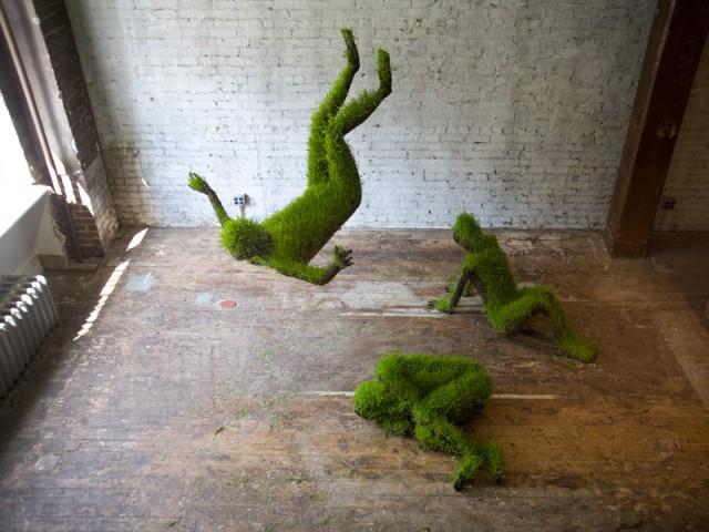 скульптуры из растений, Mathilde Roussel-Giraudy