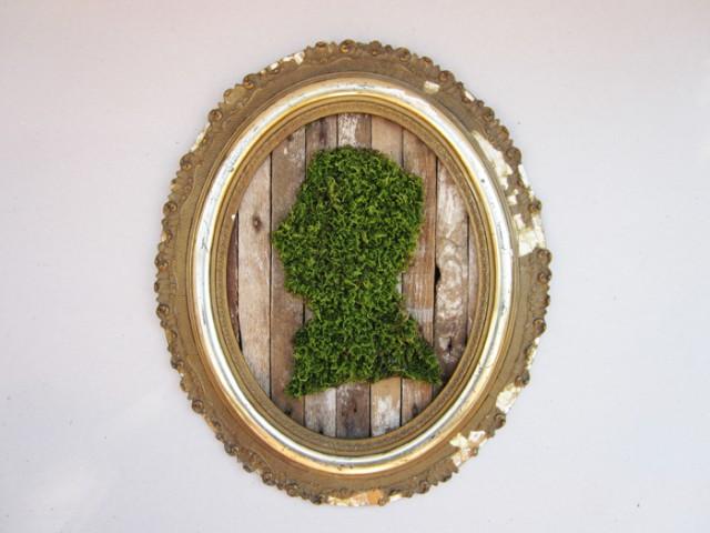 зеленый силуэт, p.m.feist