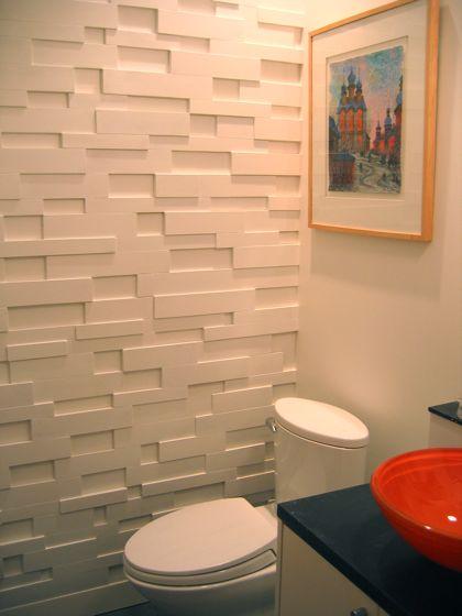 декоративная объемная стена