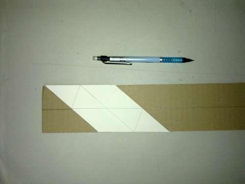 перерисуйте деталь ширмы на картон