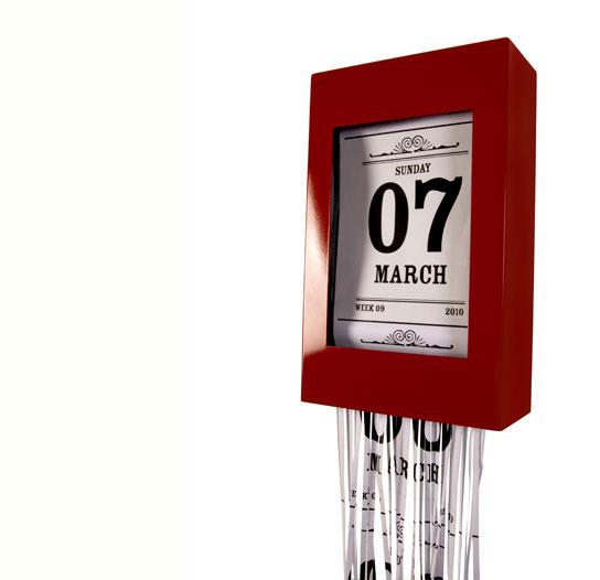 настенный календарь Хроно-шредер