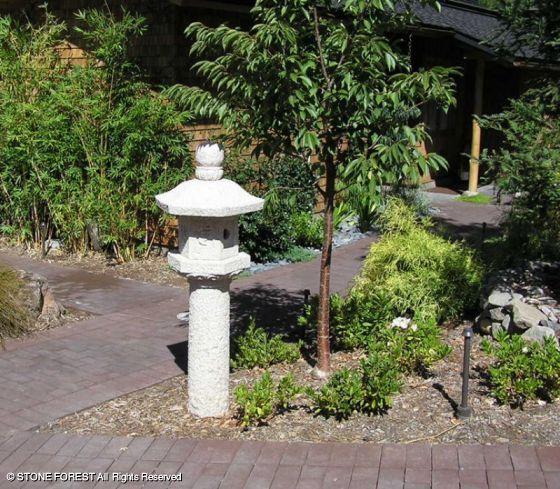 японские каменные фонари Shinta Lantern tachi-gata