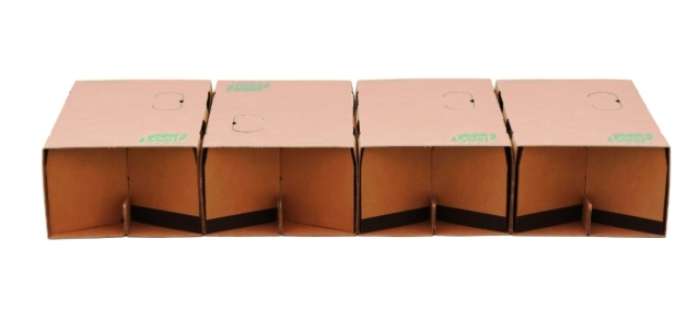 картонная кровать Leafbed