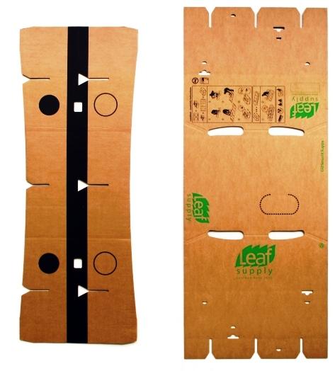 детали для картонной мебели