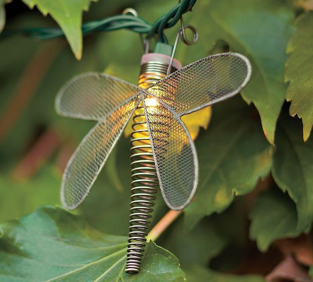 Wire Dragonfly гирлянды