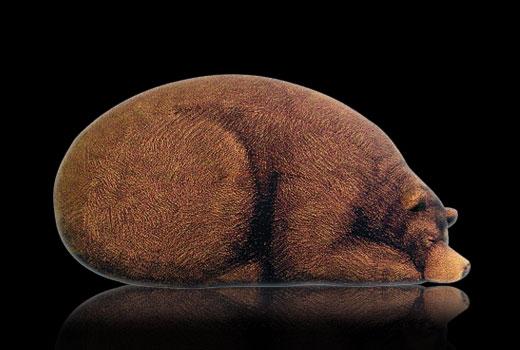 мягкий пуф Bear