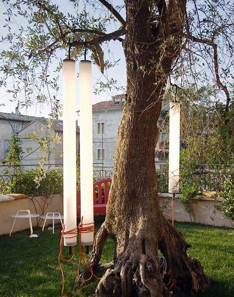 подвесные садовые светильники
