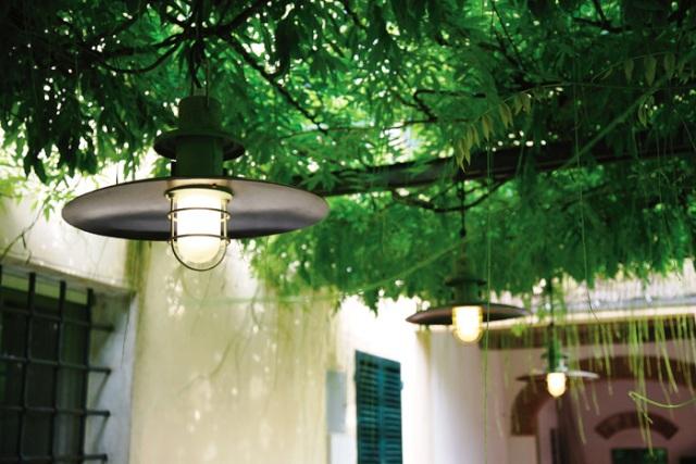 подвесные фонари для дачи