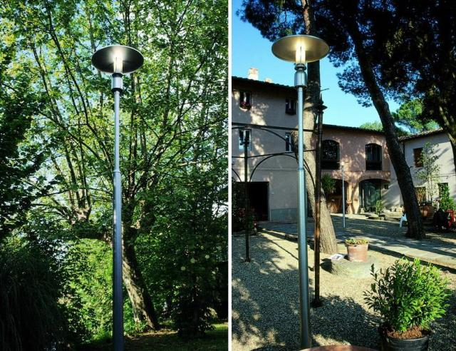 напольные фонари для дачи и сада