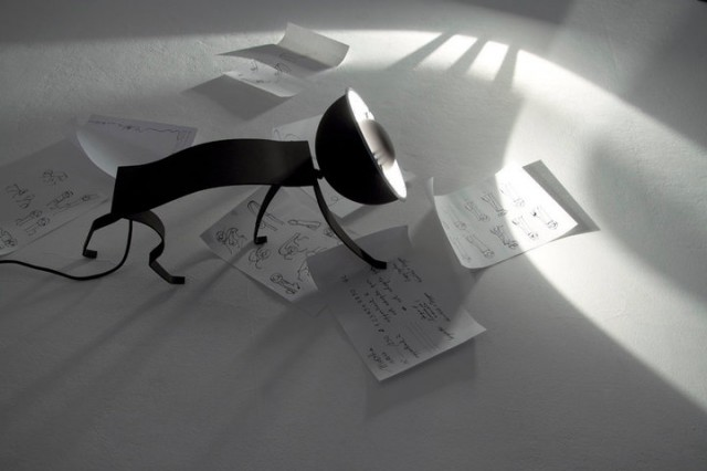 настольная лампа - кошка, House of Micha