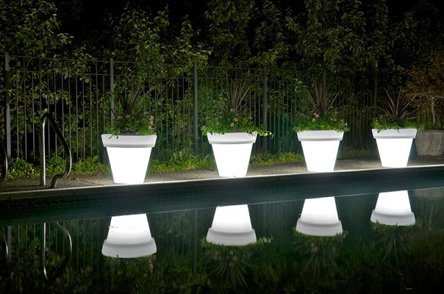 светодиодные светильники - горшки от rotolux