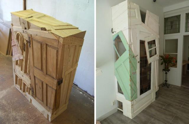 оригинальные шкафы