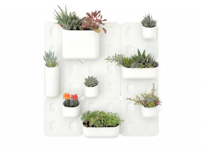 система вертикального домашнего сада