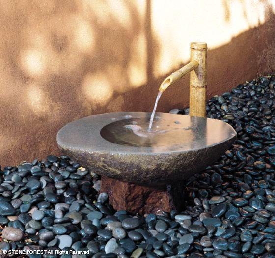 каменный бассейн - чаша Wabi
